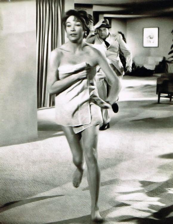 """Ширли МакЛейн в фильме """"Всей работы на одну ночь"""", 1961"""