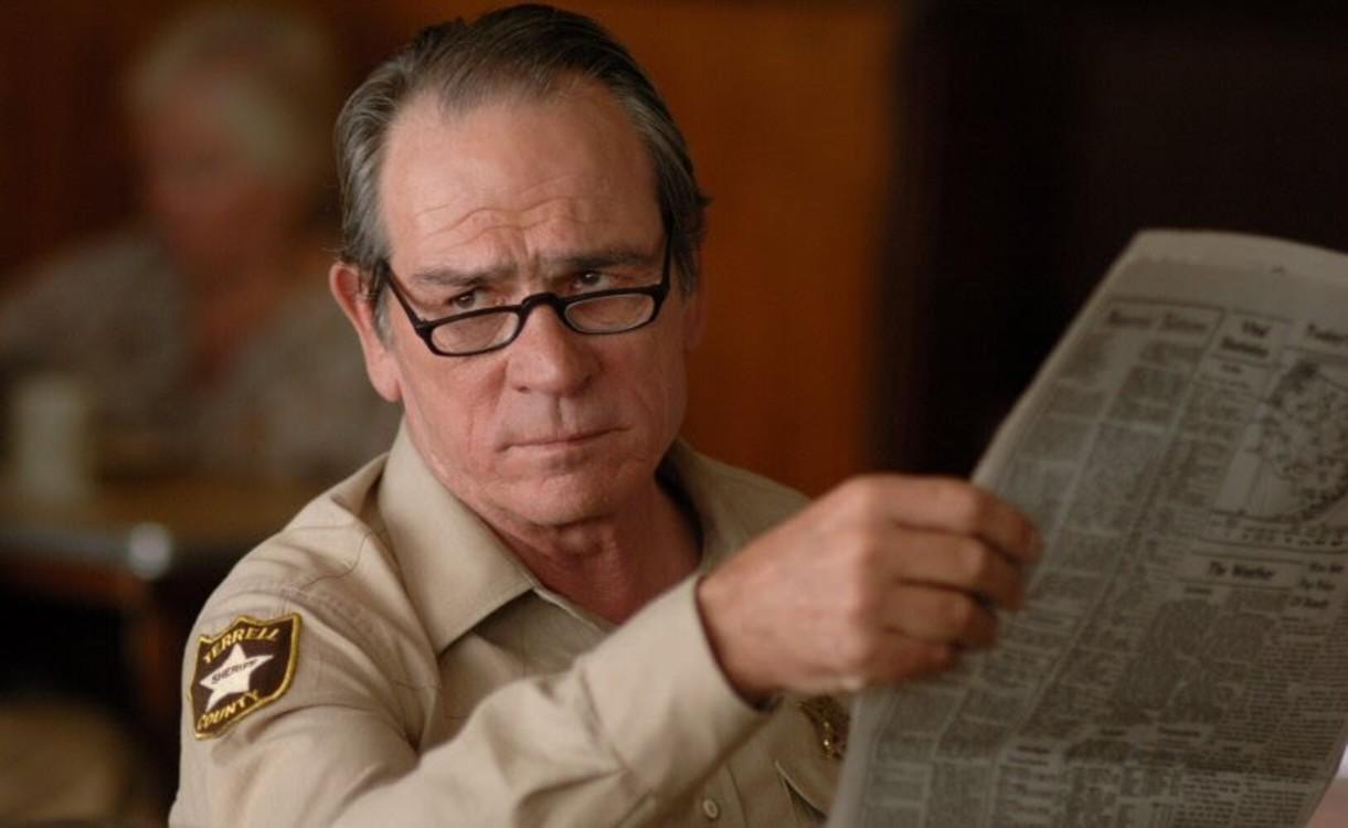 Томмі Лі Джонс у фільмі «Старим тут не місце», 2007