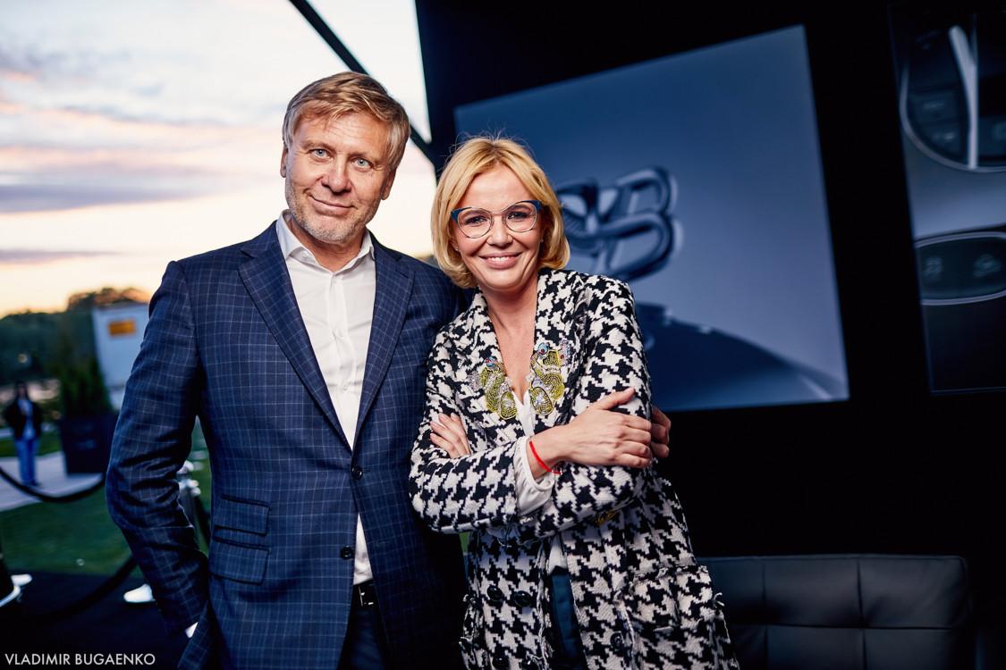 Вадим Гуржос и Наталья Доильницына