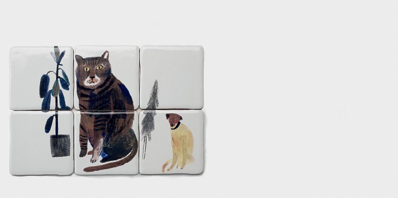 Серия керамической плитки для компании The New Craftsmen, 2018