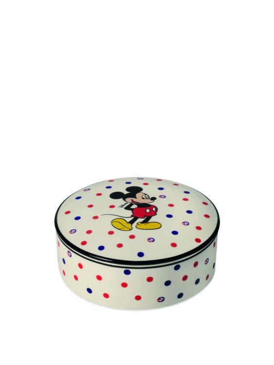 Круглая шкатулка с Микки Маусом из новой коллекции Gucci Décor