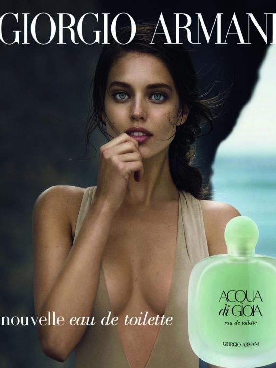 Рекламная кампания Acqua di Gioia, Giorgio Armani, 2015