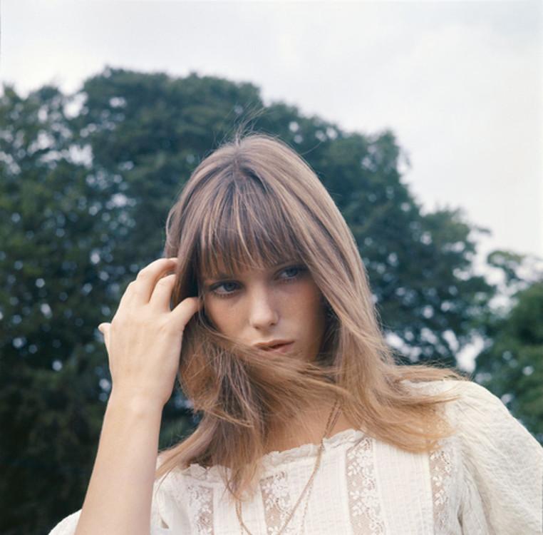 Джейн Біркін біля Бленгеймського палацу, 1969