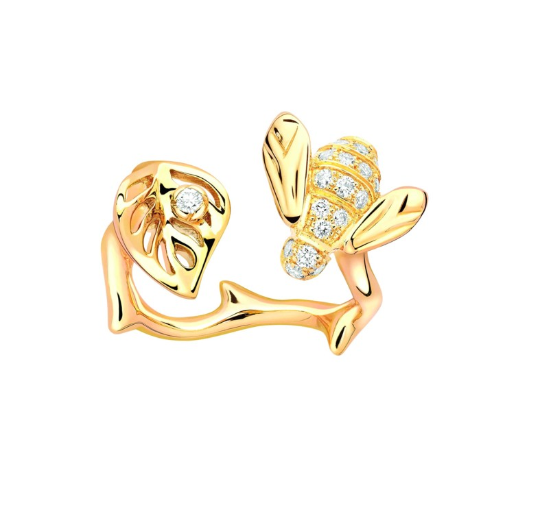 Желтое золото и бриллианты