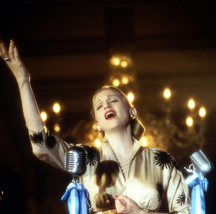"Кадр з фільму ""Евіта"", 1996 рік"