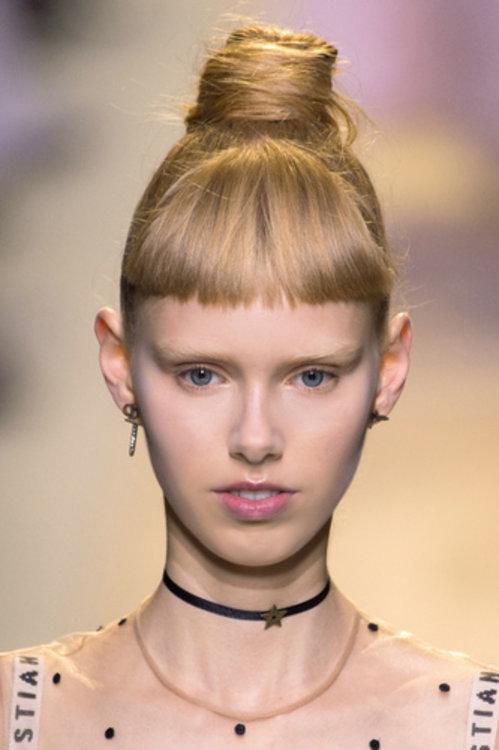 Лулулейка Равн Лиеп на шоу Dior