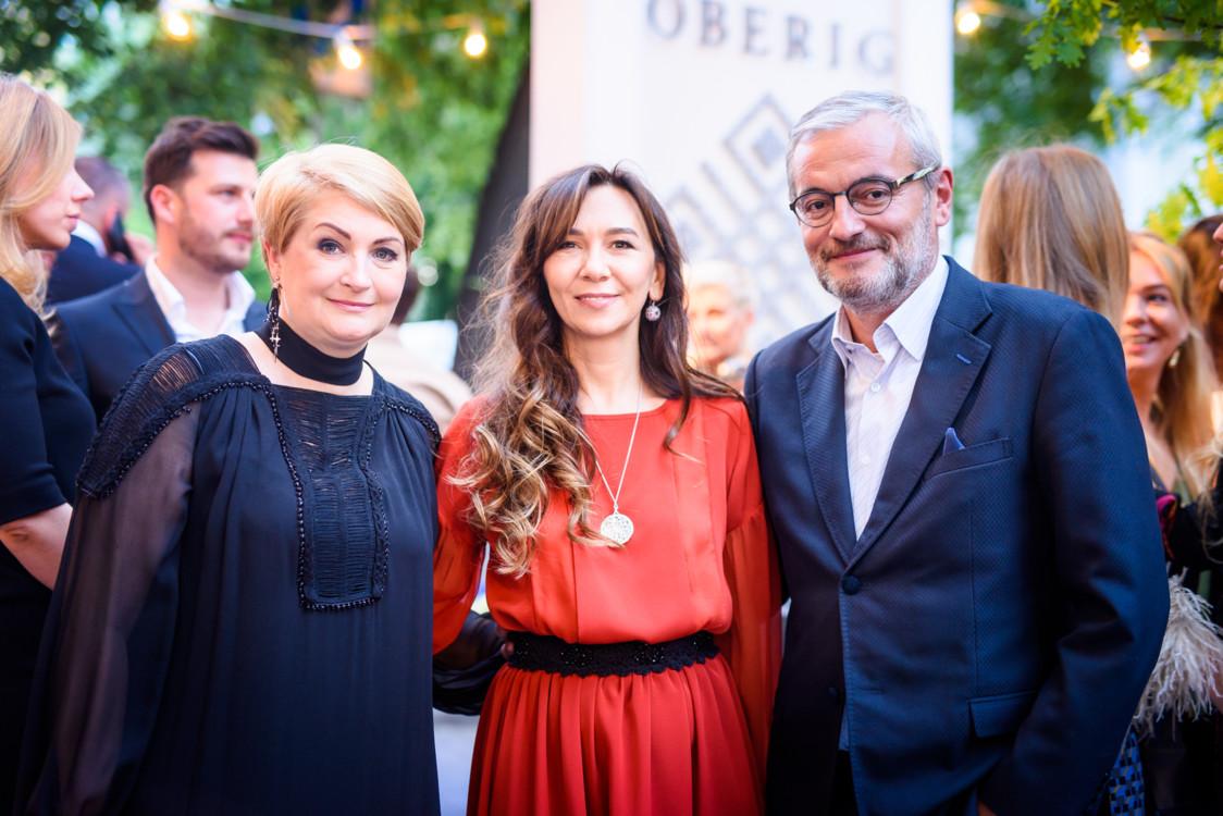 Ирина Данилевская, Татьяна Кондратюк и Владимир Нечипорук