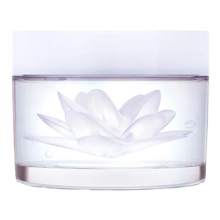 Маска для обличчя Moisturizing Lotus Mask, Kenzoki, об'єднує дві текстури - гелеву і кремову. Допомагає зберігати рівень вологи, підсилює бар'єрну функцію шкіри