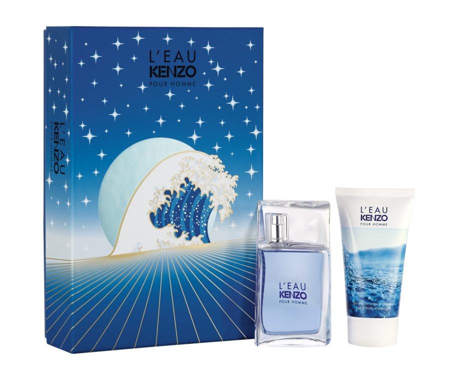 Парфюмированный набор L'Eau Kenzo: аромат и гель для душа и волос, Kenzo