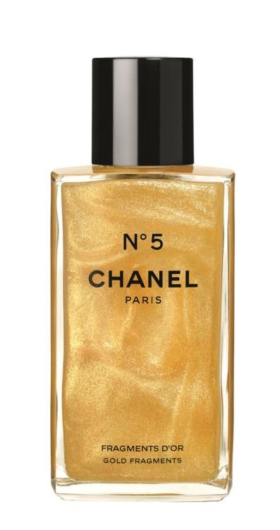 Ароматизированный гель для тела N°5 Fragments D'Or, Chanel