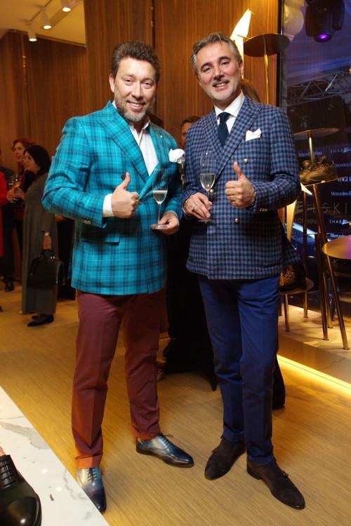 Андрей Здесенко и Марио Феррари