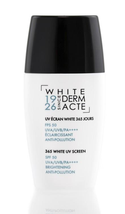 Освітлюючий захисний крем 365 днів SPF-50 UVA / UVB / PA ++++, White Derm Acte, Académie