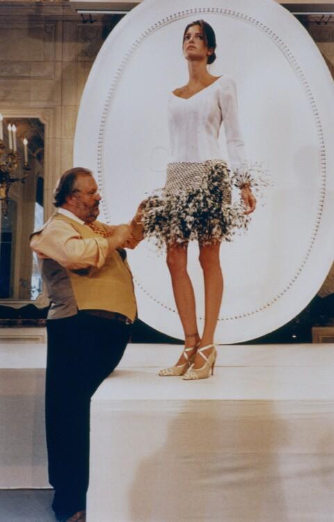 С Джанфранко Ферре, 1994