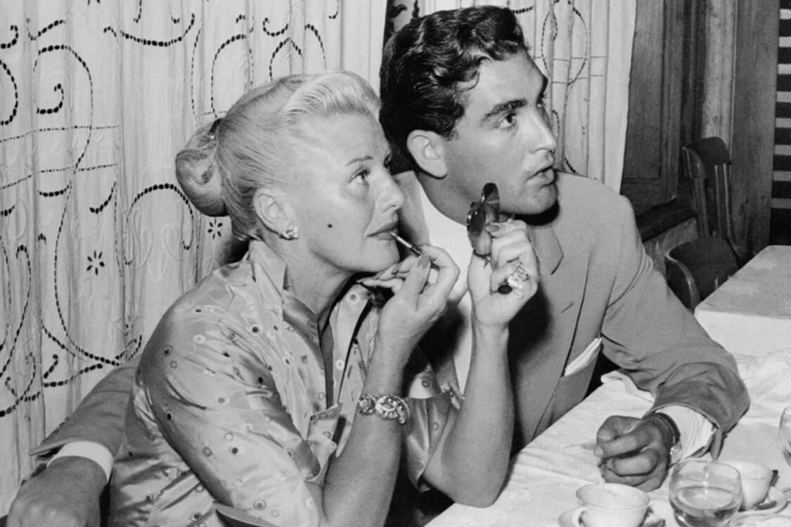 Джинджер Роджерс и Жак Бержерак, 1952