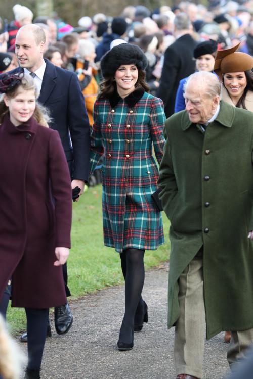 Кэтрин, герцогиня Кембриджская, Филипп, герцог Эдинбургский, Меган Маркл
