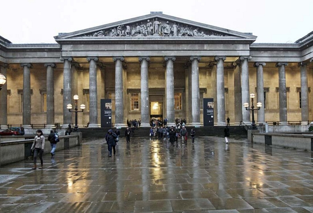 Британский музей, Лондон, Великобритания (5 869 000 посетителей в 2019 году)