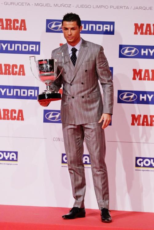 Криштиану Роналду на церемонии Marca Awards 2016 в Мадриде