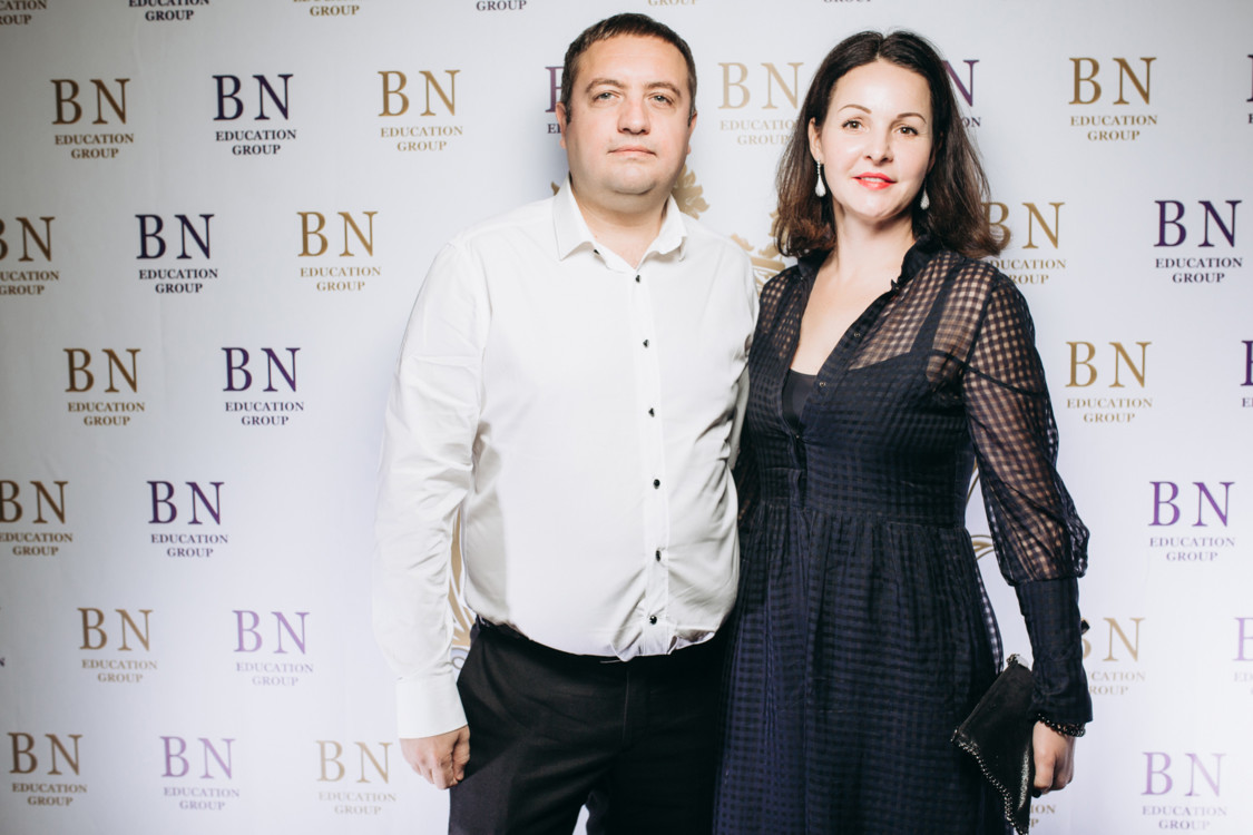 Оксана Дзюба с мужем