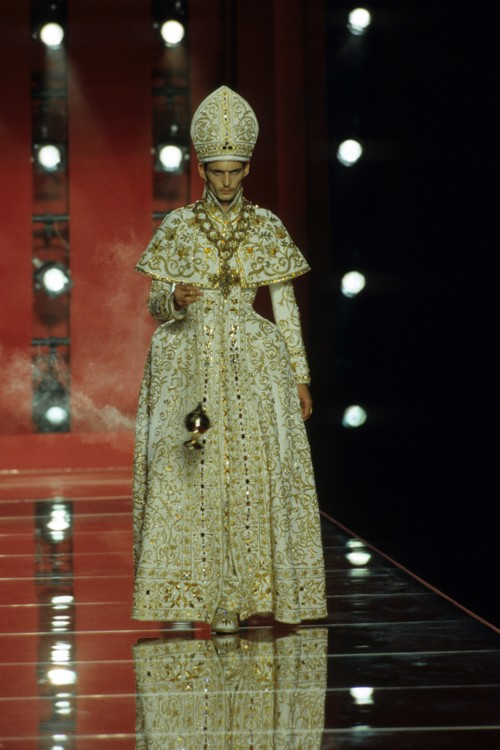 Christian Dior Couture осень-зима 2001