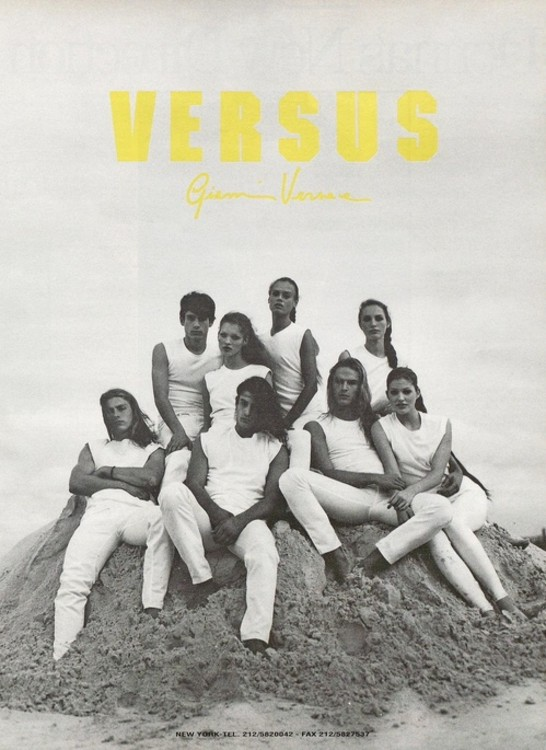 Versus by Gianni Versace весна-лето 1993