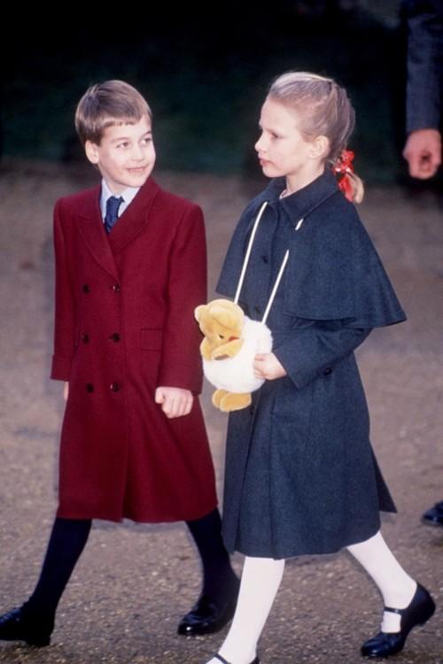 Принц Вільям і Зара Філліпс, 25 грудня 1988 р.