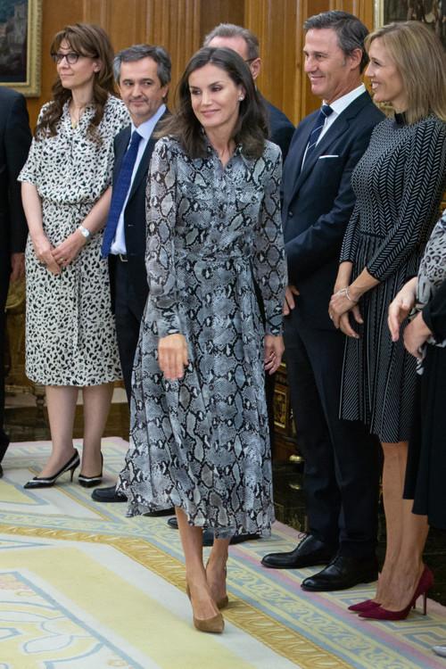 Королева Летиция в Massimo Dutti