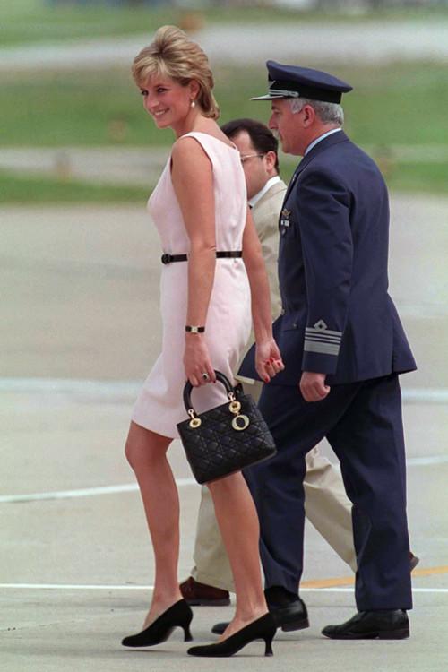 Принцесса Диана с сумкой  Lady Dior, Dior