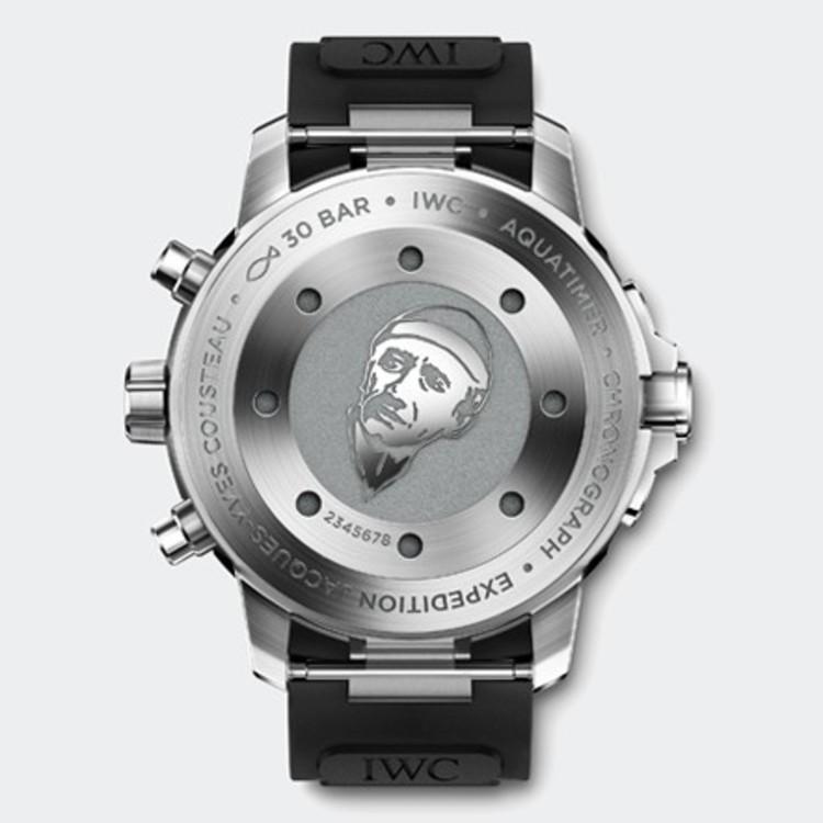 Модель Aquatimer Chronograph Edition «Expedition Jacques-Yves Cousteau» – это шестой специальный выпуск часов, названный в честь знаменитого француза.
