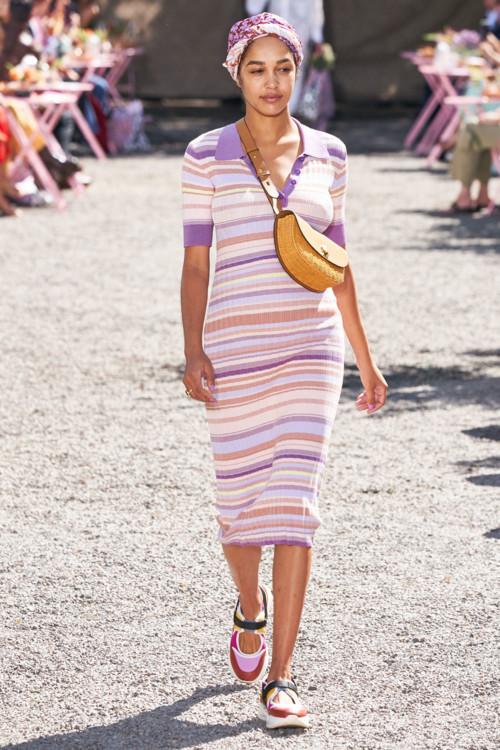 Платья-поло в коллекциях весна-лето 2020 фото