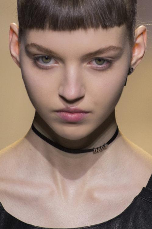 Мария Карла на показе Dior
