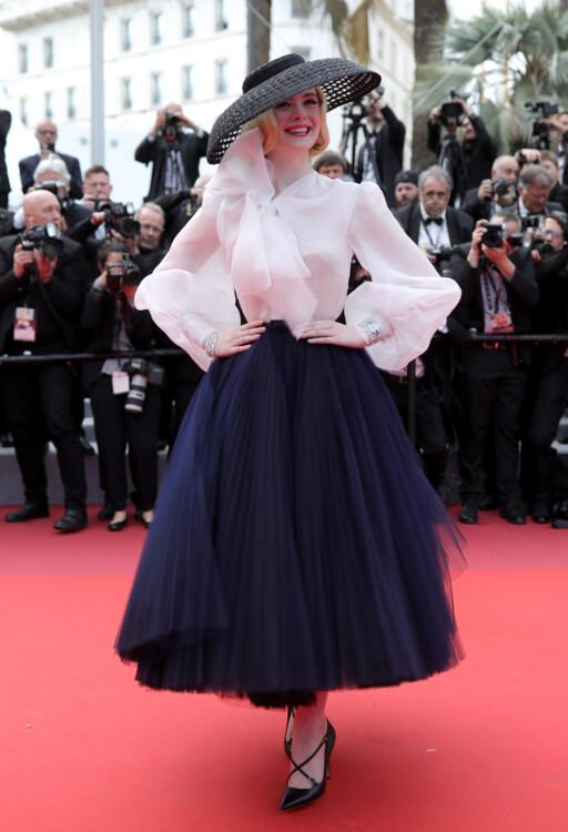 Ель Феннінг у Christian Dior