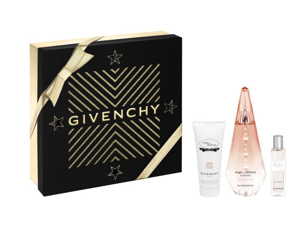Женский набор L'Ange Ou Demon Le Secret: шелковая вуаль для тела, парфюмированная вода и мини-версия аромата для путешествий, все - Givenchy