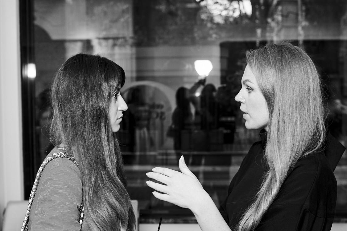 Тина Сизонова и Валерия Толочина