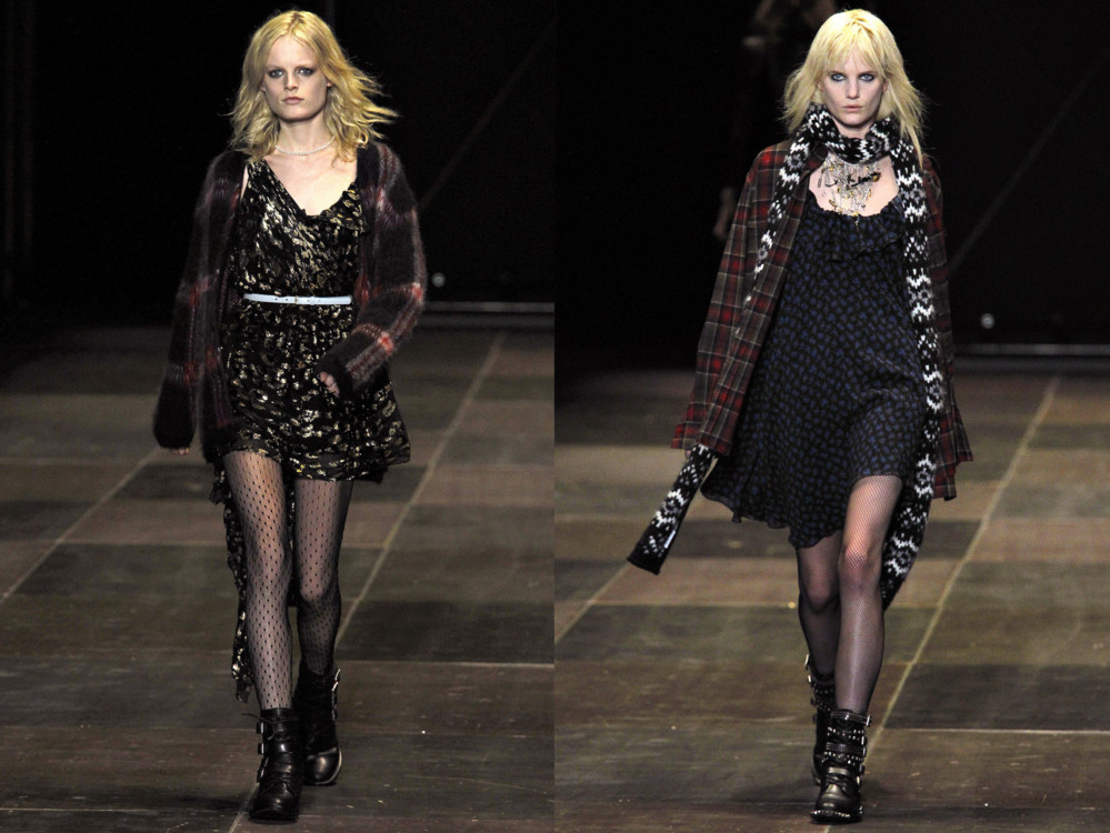 Saint Laurent, осень-зима 2013