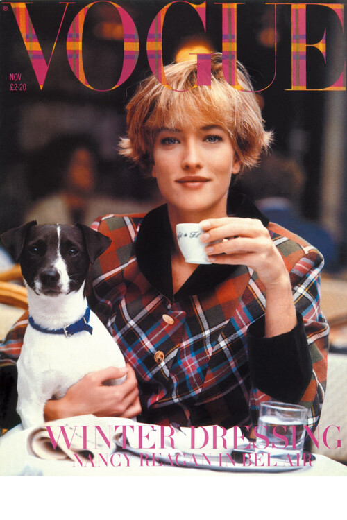 Vogue British, листопад 1989