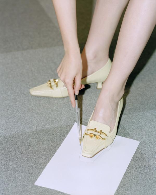 Кожаные туфли, Bottega Veneta