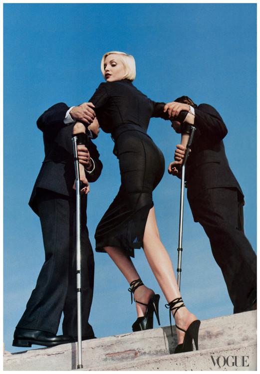 Надя Ауэрманн, Vogue US, 1995