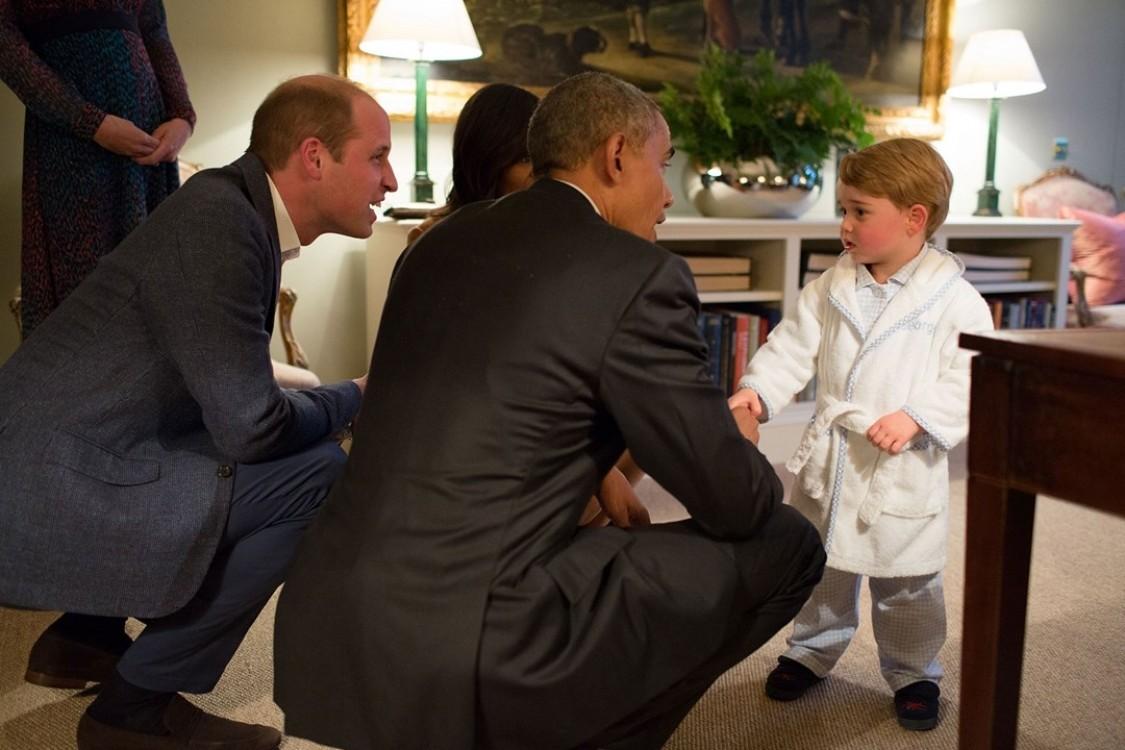 Первая встреча с Бараком Обамой