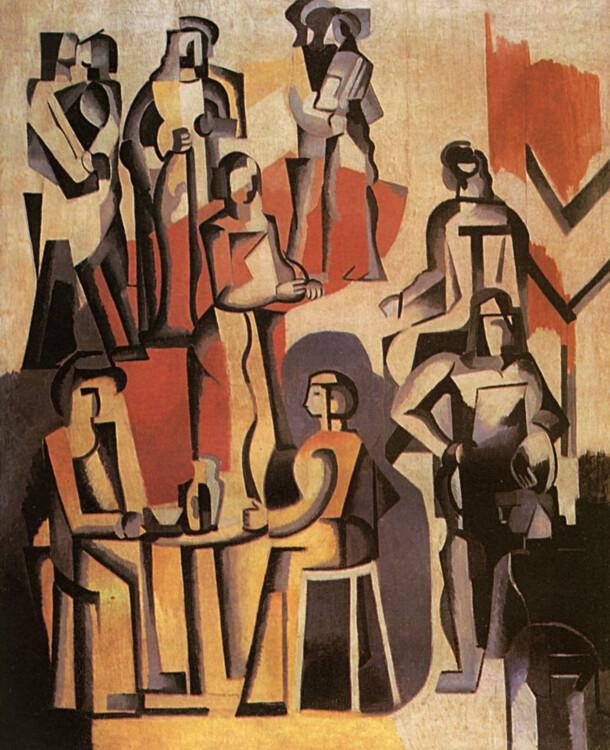 «Кафе», 1928 (Частная коллекция)