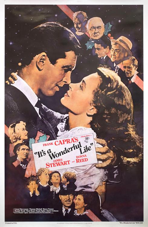 """Постер фільму """"Це дивовижне життя"""", 1946"""
