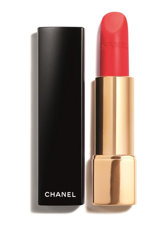 Помада Rouge Allure Velvet №66 L'Indomabile, Chanel