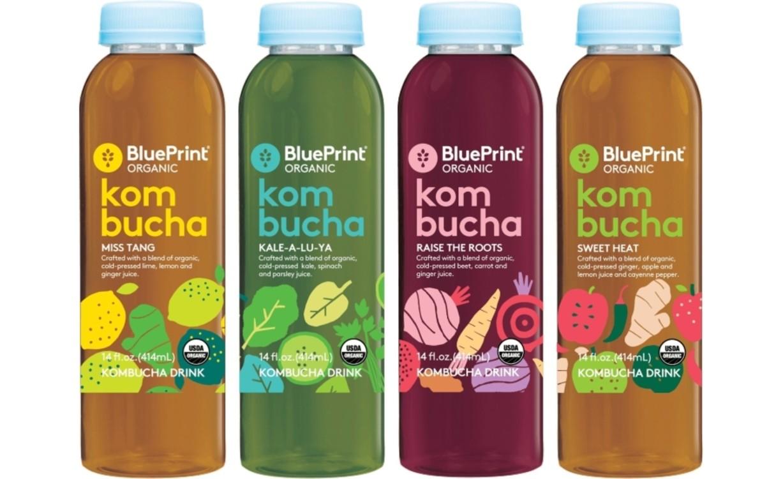 Напитки с комбучей, BluePrint Organic