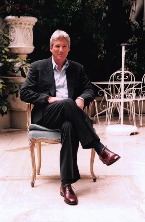 Ричард Гир в отеле Ritz на презентации его фильма «Красный угол» в Париже, 1998