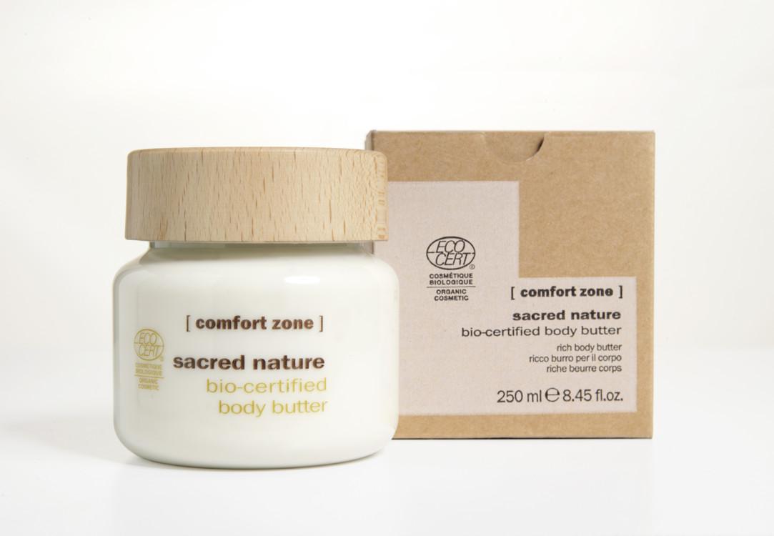 Органическое питательное масло для тела Sacred Nature Body Butter, [comfort zone]