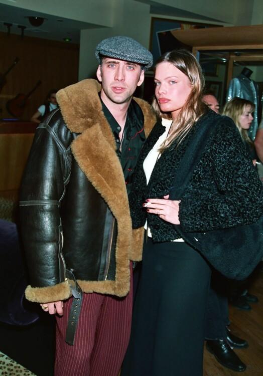 Николас Кейдж и Кристен Дзан в Лас-Вегасе