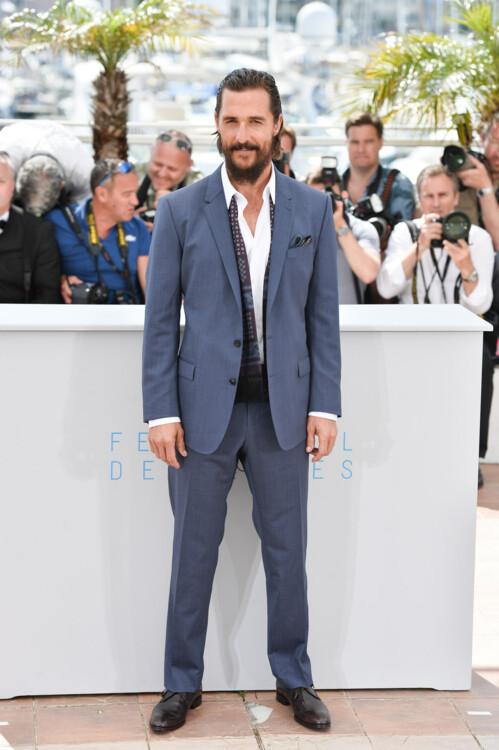 Мэттью Макконахи во время 68-го Каннского кинофестиваля, 2015
