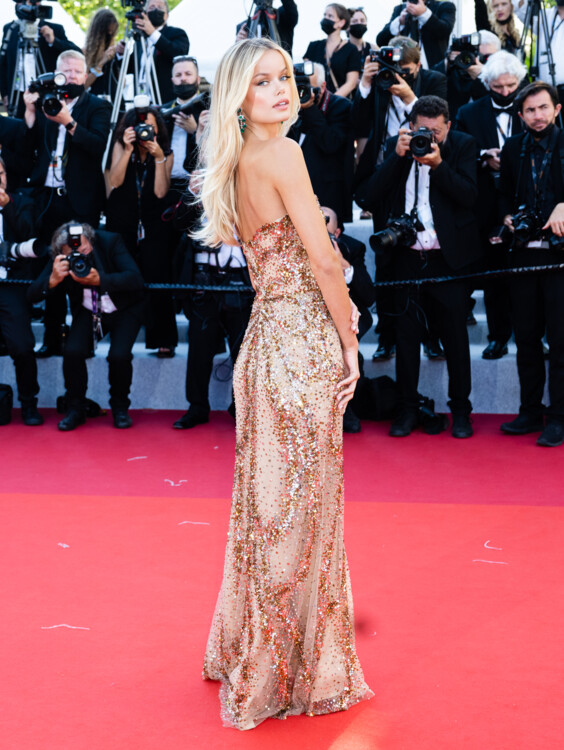 Фрида Аасен в платье Elie Saab и украшениях Chopard