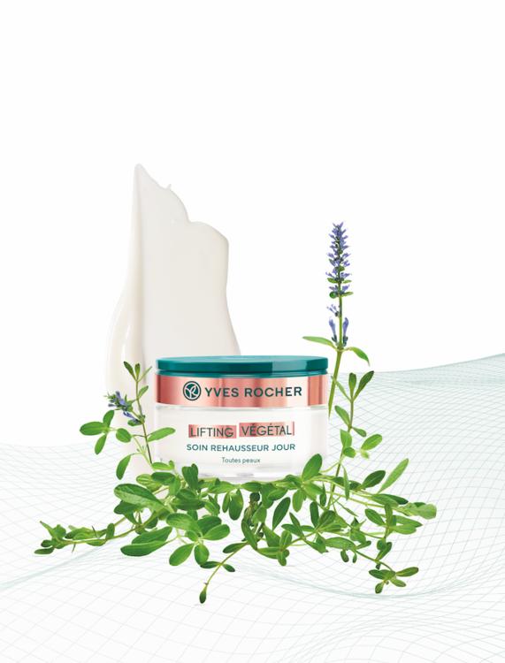 Дневной крем для лица и шеи Lifting Vegetal Yves Rocher