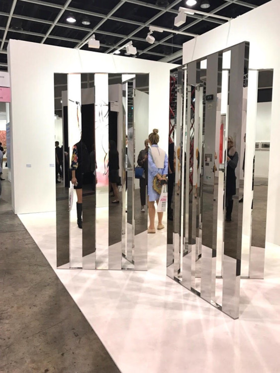 "Джиппи Хейн ""Угол зеркала.Фрагменты""  Konig Galerie"