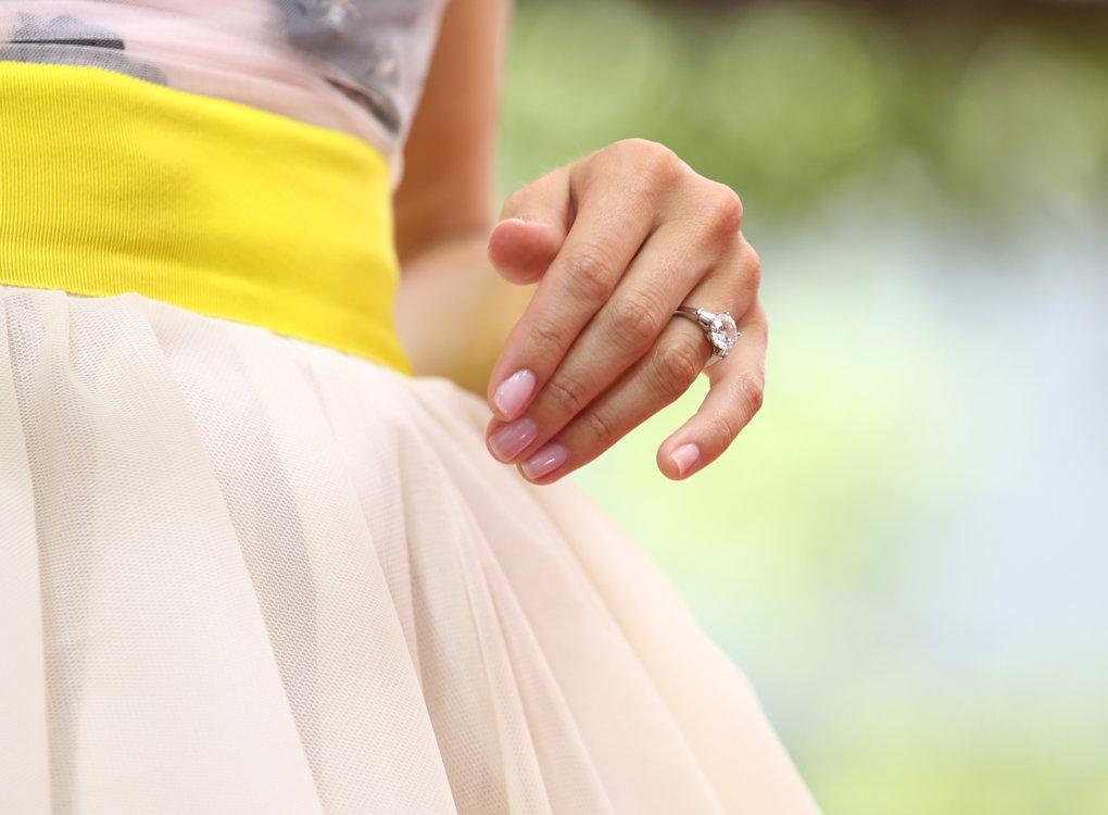 Бриллиантовое кольцо Эллисон Уильямс